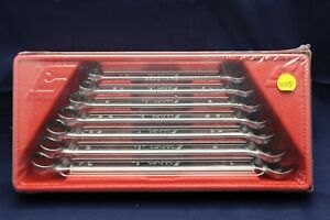 Snap On Tools 7 Piece Sae Flank Drive Plus Combo Wrench Set Soex707 C3