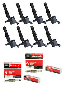 Spark Plug Ignition Coil 8pc For 05 08 Explorer Mustang Mountaineer Fd508