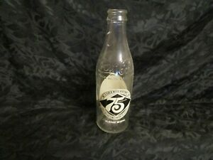 Coca-Cola 75Th Anniversary Commemorative Bottle 10 Fluid Ounce Atlanta  GA