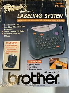 Brother P touch Electronic Labeling System New Home Organized Label Machine Niob