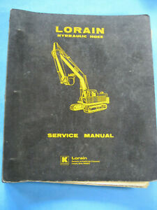 Lorain Hydraulic Hoes Service Manual L48h Oem Factory