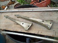 1930 1931 Model A Ford Roadster Brass Windshield Posts Aa Jalopy Trog Rat Rod
