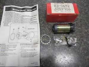 Vintage Windshield Washer Pump Brand New Made In Usa