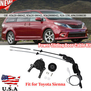 Vehicle Rear Right Power Sliding Door Cable Kit Fit For Toyota Sienna 8562008042