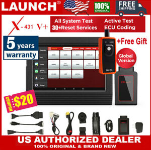 2020 New Launch X431 V Bidirectional Scanner Active Test Obd2 Diagnostic Tool