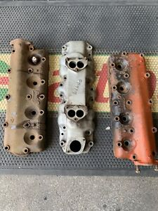 Ford Flathead V8 Evans Intake Manifold And 2 Ford Four Cylinder Heads