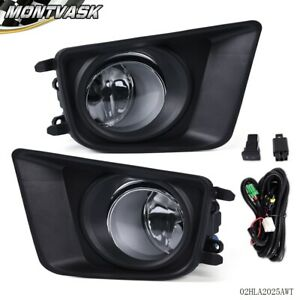 For 2012 2013 2014 2015 Toyota Tacoma Led Halo Projector Fog Lights W Switch