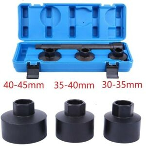 4pcs Track Rod End Remover Installer Tool Kit Steering Rack Tie End Axial Joint