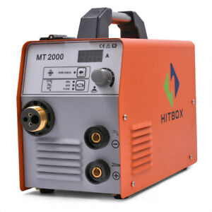 Hitbox 3 In1 Mt2000 Mig Welder 220v Gas Gasless Arc Lift Tig Mig Welding Machine