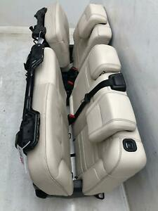2013 2016 Mercedes Gl63 Amg X166 Rear Second Row Seat W Airbag Beige Leather
