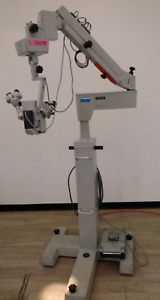 Zeiss Opmi 6 c Surgical Microscope Xy Foot Pedal Sb3 Universal Stand
