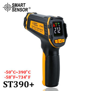 Digital Infrared Thermometer Laser Temperature Meter Non contact Pyrometer Image