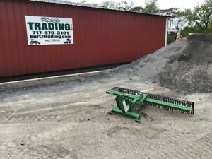 2014 Frontier 72 3pt Rock Rake Attachment For Compact Tractors