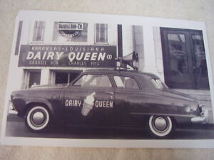 1950 1951 Studebaker Coupe Dairy Queen Shop Car 11 X 17 Photo Picture