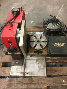 Haas 5 Axis Hrt 160 And Hrt7 Rotary Table With Controller