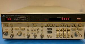 Hp 8673a Synthesized Signal Generator 2 0 26 0 Ghz