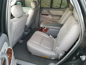 Toyota Sequoia Middle Row Bucket Seats Captain Chairs Center Console 2nd Second
