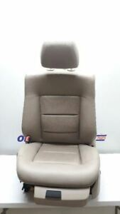 10 2010 Mercedes E350 Driver Left Front Bucket Seat Beige Leather Power Memory