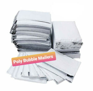 10 25 50 75 100 Poly Bubble Mailers Padded Envelopes 4x7 8 5x12 8 5x14 5