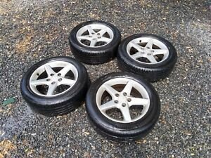 Acura Rsx 5 Spoke Wheels With Tires Rims 5x114 Rsx Type S Local Pickup Only