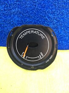 1967 1968 Mustang Water Temperature Gauge C7zf 10971 Tach Dash Very Clean