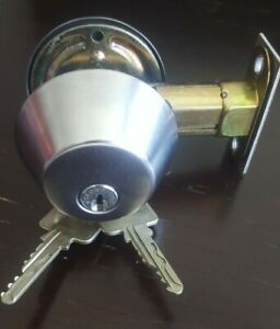 High Security Scorpion Cx 5 Deadbolt Lock Comes With 2 Keys