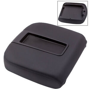 For Chevy Avalanche Gmc Yukon Sierra 1x Black Center Console Armrest Lid