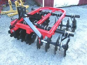 New Tennessee River Imp Hd 6 Ft Disc Harrow free 1000 Mile Delivery From Ky