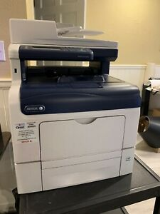 Used Xerox Workcentre 6605 Color Letter Legal Copier Printer Scanner Fax 36ppm
