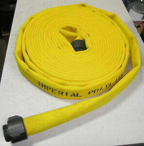 70d8 Imperial Polylite Fire Hose 1 1 2 X 50 400psi Nfpa 1962 Double Jacket