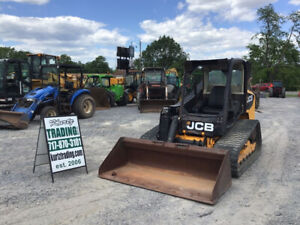 2012 Jcb 320t Compact Track Skid Steer Loader Only 2200 Hours