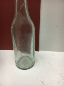 "EARLY 1900s ""ROOT"" SCRIPT COCA-COLA STRAIGHT SIDE AQUA BOTTLE -EXCELLENT"