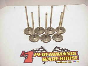 7 New Zanzi Titanium 7 Mm Intake Valves 2 150 X 5 830 Long Nascar Sb2 2