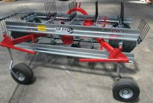 New Tar River D150 3 Belt Rake 6 Ft Free 1000 Mile Business Shipping From Ky