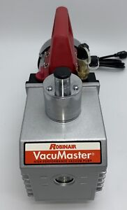 Robinair 15800 Vacumaster Economy Vacuum Pump 2 stage 8 Cfm Chrome Usa Ship