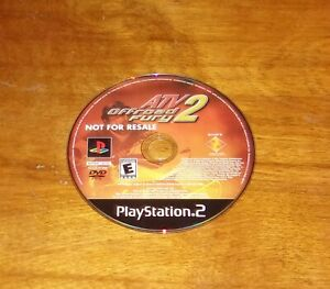 ATV Offroad Fury 2 - PlayStation 2 - Tested - (Not For Resale Edition)