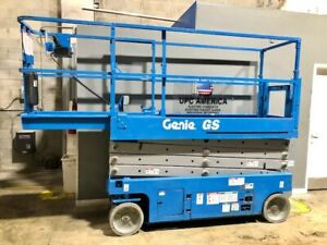 Genie Gs 2632 Self propelled Electric Scissor Lift