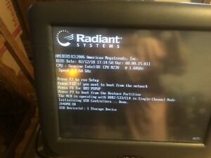 Radiant P1550 Pos Terminal Ncr Aloha Point Of Sale Touch Computer All In One