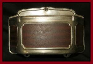 Super Rare Vintage Chevy Ford Dodge Dash Cigarette Case Flask Holder Accessory