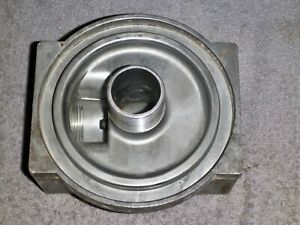 Cross 4200223 Hydraulic Fillter Spin on Cover 1 1 4 Npt Ports