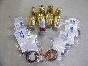 7 3 Ford Diesel Injector Cup Sleeve Repair Kit Sleeves Orings And Loctite 52