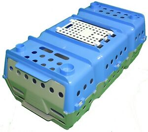 Game Bird Quail Transport Crate Plastic Gamebird Quail Crate Quail Coop Rabbit