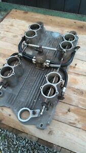Rare Vintage Sbc Hilborn Fuel Injection Intake