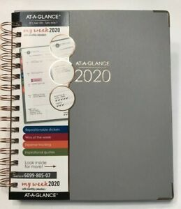 At a glance Harmony 13 month Weekly monthly Planner 8 1 2 11