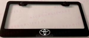 Toyota Camry Stainless Steel Chrome Finished License Plate Frame Rust Free