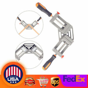 90 Degree Right Angle Clamp Picture Frame Corner Holder Woodworking Hand Tools