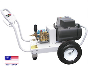 Pressure Washer Commercial Electric Cold Water 3000 Psi 4 Gpm Cat Pump