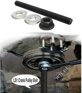 Harmonic Balancer Installation Tool Puller Crank Pulley For Gm Ls Engines