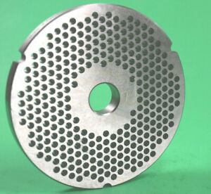 42 X 3 16 4 5mm Stainless Meat Grinder Plate For Biro 4 1 16 Diameter