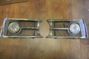 1965 Plymouth Barracuda Front Grille Left Right Sides 1964 Formula S 64 65